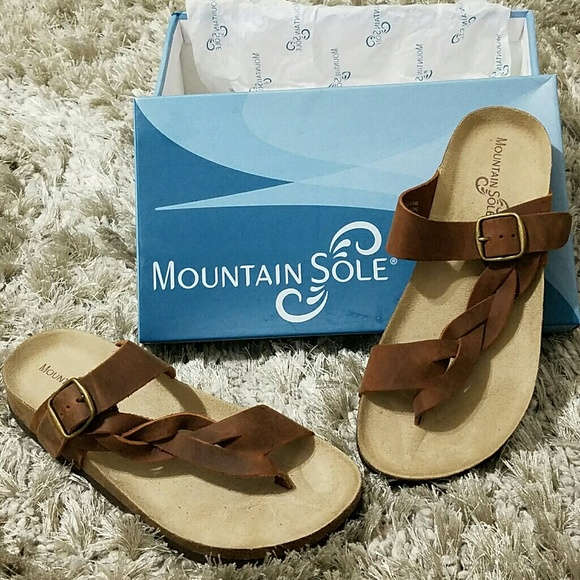 125391b260c9 Mountain Sole Hollie Braided Sandal